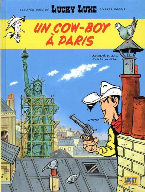 bd-les-aventures-de-lucky-luke-dapres-morris-tome-8-un-cow-boy-a-paris